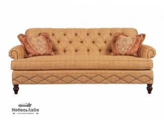 Роскошный классический диван Кристиан с ножками из дерева, Мебельная фабрика МебельЛайн, г. Самара