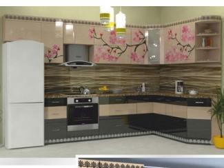 Кухня угловая Фотопечать 01, Мебельная фабрика Форт, г. Ульяновск