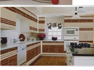 Кухня угловая Фотопечать 04, Мебельная фабрика Форт, г. Ульяновск