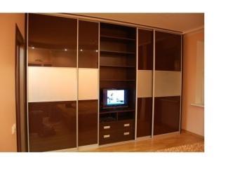 Шкаф-купе в гостиную , Мебельная фабрика Династия, г. Самара