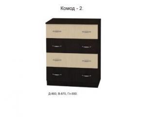 Комод 2, Мебельная фабрика Союз мебель, г. Пенза