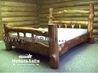 Кровать из дерева , Мебельная фабрика МебельЛайн, г. Самара