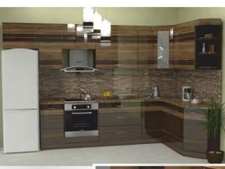 Кухня угловая Фотопечать 02, Мебельная фабрика Форт, г. Ульяновск