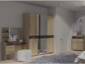 Шкаф 4-х створчатый Линда, Мебельная фабрика Гайвамебель, г. Пермь
