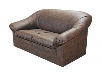 Темный гостиный диван Офис 1, Мебельная фабрика Ивкрон, г. Иваново