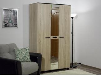 Шкаф 3-х створчатый с зеркалом Эксон, Мебельная фабрика Гайвамебель, г. Пермь