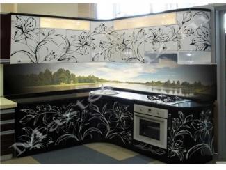 Кухонный гарнитур из пластика с фотопечатью 70, Мебельная фабрика Master, г. Пенза