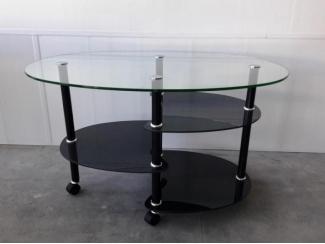 Журнальный стеклянный стол Рио, Мебельная фабрика Мебель из стекла, г. Воронеж