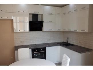 Белая угловая кухня, Мебельная фабрика Аригард, г. Химки