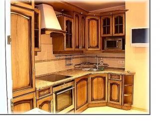 Классическая угловая кухня , Мебельная фабрика Мебель Парк, г. Москва