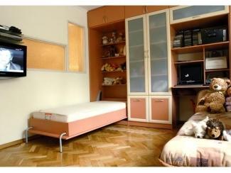 Стенка в детскую с откидной кроватью, Мебельная фабрика Мастер Мебель, г. Новосибирск
