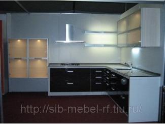 Кухня с фасадами из пластика 3, Мебельная фабрика Сиб-Мебель, г. Новосибирск
