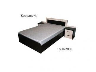 Кровать 4, Мебельная фабрика Союз мебель, г. Пенза