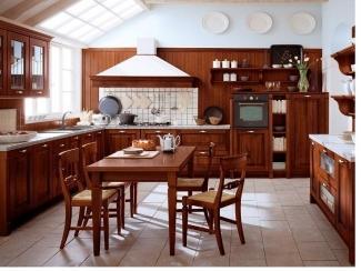 Кухонный гарнитур ИТ-9, Мебельная фабрика АКАМ, г. Москва