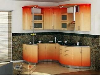 Радиусная кухня, Мебельная фабрика Арт Мебель, г. Новосибирск