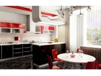 Кухня с фасадом пластик-акрил , Мебельная фабрика Крона Мебель, г. Ростов-на-Дону