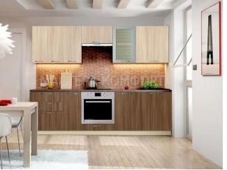 Кухня ЛДСП Шанталь 1, Мебельная фабрика Мастера Комфорта, г. Краснодар