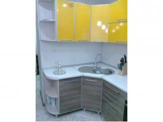 Кухня пластиковая в алюминиевом профиле , Мебельная фабрика KL58, г. Пенза
