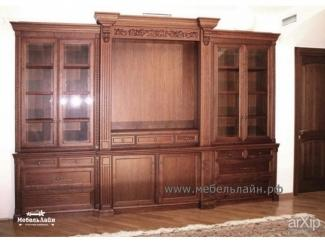 Стенка в гостиную , Мебельная фабрика МебельЛайн, г. Самара
