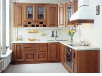Кухня из массива дерева , Мебельная фабрика Крона Мебель, г. Ростов-на-Дону