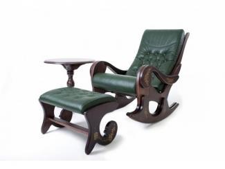 Набор Грация  кресло-качалка+столик+подножник, Мебельная фабрика ОСТА, г. Казань