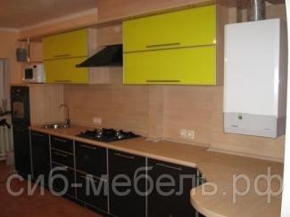 Кухня прямая 4, Мебельная фабрика Сиб-Мебель, г. Новосибирск