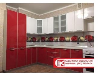 Кухня из пластика, Мебельная фабрика ГОСТ, г. Казань