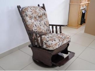 Кресло-качалка Версаль 1 с подставкой для ног, Мебельная фабрика Версаль, г. Туймазы