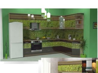 Кухня угловая Фотопечать 08, Мебельная фабрика Форт, г. Ульяновск