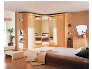 Спальный гарнитур с угловым шкафом , Мебельная фабрика Папа Карло, г. Самара