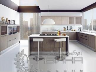 Кухня Гестия с островком , Мебельная фабрика Рябина, г. Москва