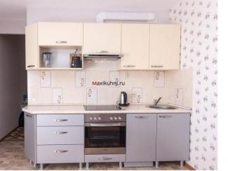 Маленькая прямая кухня , Мебельная фабрика MaxiКухни, г. Санкт-Петербург