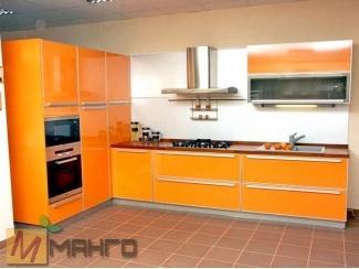 Оранжевая кухня Бализ, Мебельная фабрика Манго, г. Пенза
