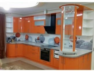 Кухня Эмаль Оранж, Мебельная фабрика Кухни Дизайн, г. Пенза