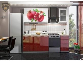 Кухня с фотопечатью Гранат, Мебельная фабрика ДСВ-Мебель, г. Пенза