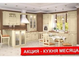 Кухонный гарнитур Уника с патиной , Мебельная фабрика ВерноКухни, г. Челябинск