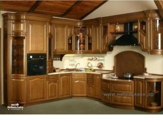 Классическая кухня из массива дерева, Мебельная фабрика МебельЛайн, г. Самара