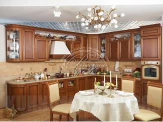 Кухня из массива 7, Мебельная фабрика Ренессанс, г. Кузнецк