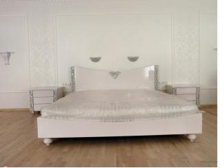 Белая большая кровать, Мебельная фабрика МебельЛайн, г. Самара