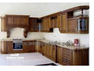 Угловая классическая кухня, Мебельная фабрика МебельЛайн, г. Самара