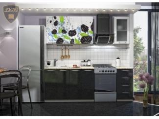 Кухня с фотопечатью Черника, Мебельная фабрика ДСВ-Мебель, г. Пенза