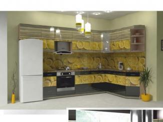Кухня угловая Фотопечать 07, Мебельная фабрика Форт, г. Ульяновск