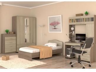 Спальный гарнитур для подростка, Мебельная фабрика Гайвамебель, г. Пермь