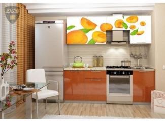 Кухня с фотопечатью Абрикос, Мебельная фабрика ДСВ-Мебель, г. Пенза