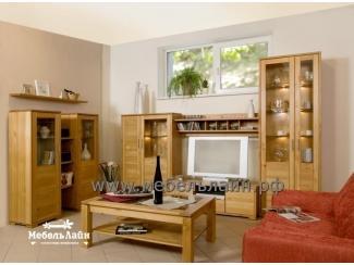 Гостиная из дерева, Мебельная фабрика МебельЛайн, г. Самара