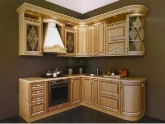 Кухня МДФ с патиной, Мебельная фабрика Арт Мебель, г. Новосибирск