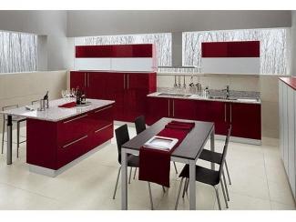 Кухня из акрила, Мебельная фабрика Derli, г. Пенза