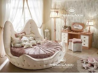 Круглая детская кровать Литл, Мебельная фабрика МебельЛайн, г. Самара