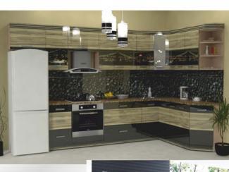 Кухня угловая Фотопечать 10, Мебельная фабрика Форт, г. Ульяновск