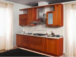 Кухня из массива 10, Мебельная фабрика Ренессанс, г. Кузнецк